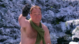 Mr. February Shirtless on 12 Men of Christmas