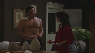 Brandon Barash Shirtless on General Hospital 20091020
