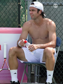 Fernando Gonzalez Shirtless at Cincinnati Open 2009