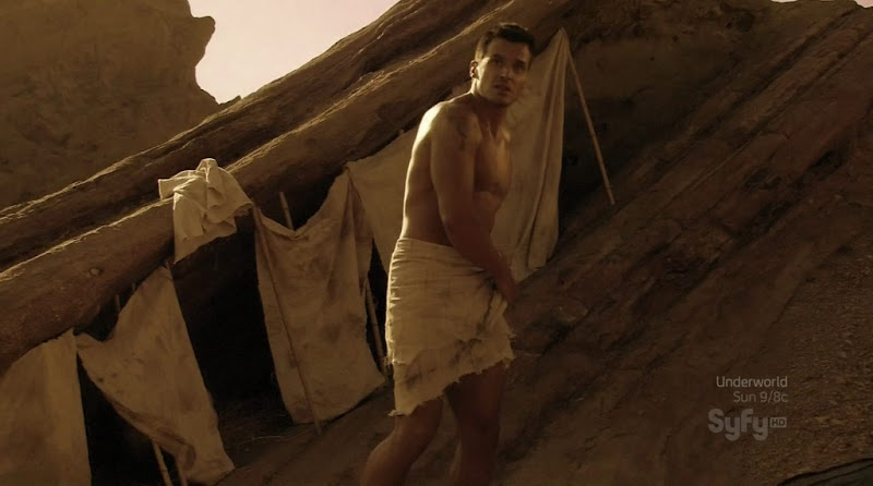 Antonio Sabato Jr. Shirtless on Princess of Mars