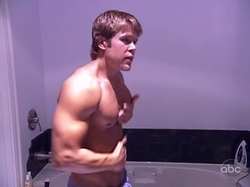 Craig Franczyk Shirtless on True Beauty s2e04