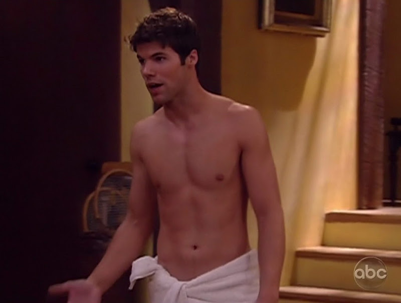 Nicholas Robuck Shirtless on One Life to Live 20100623