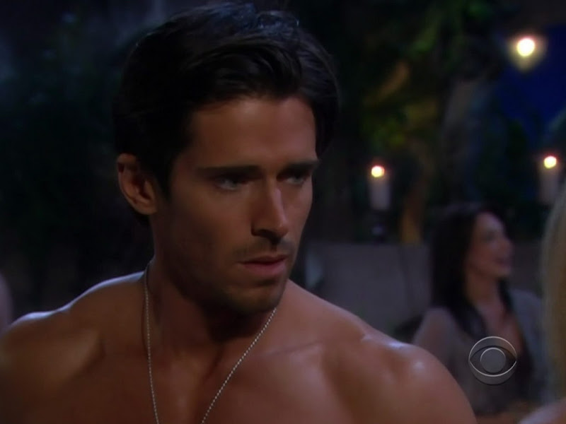 Brandon Beemer Shirtless on Bold and the Beautiful 20100617