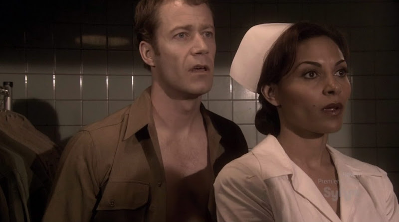 Colin Ferguson Shirtless on Eureka s4e01