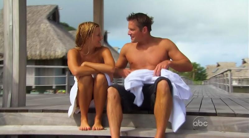 Chris Lambton Shirtless on The Bachelorette s6e10