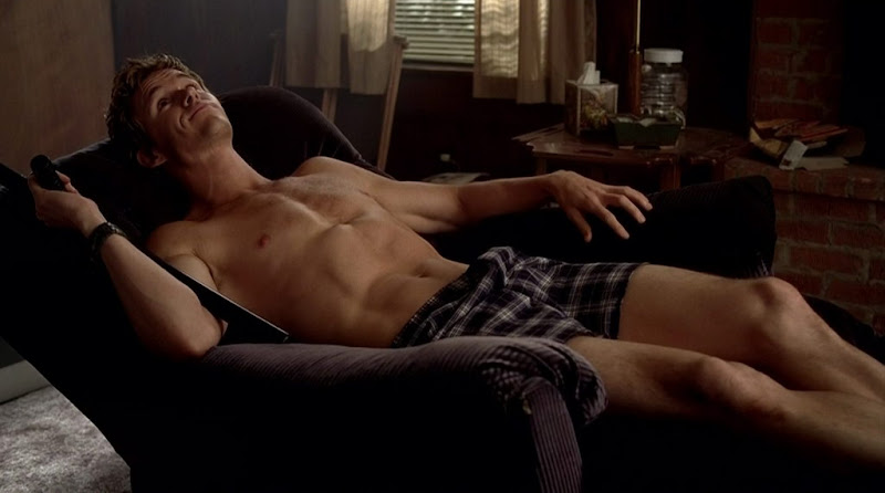 Ryan Kwanten Shirtless on True Blood s3e07