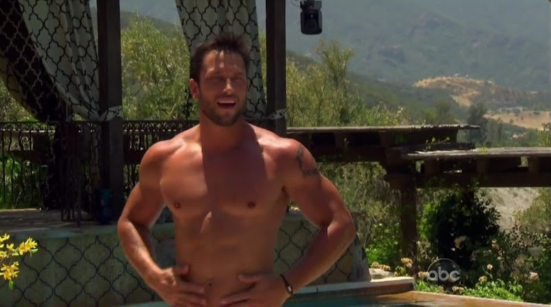 David Good Shirtless on Bachelor Pad s1e04