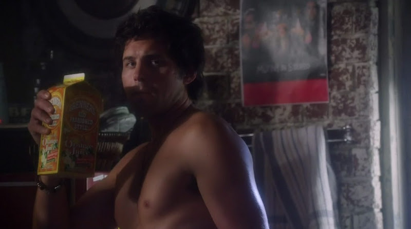 Kristoffer Polaha Shirtless on Life Unexpected s2e02