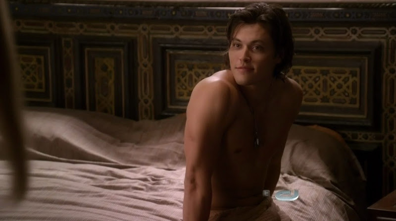 Blair Redford Shirtless on 90210 s3e02