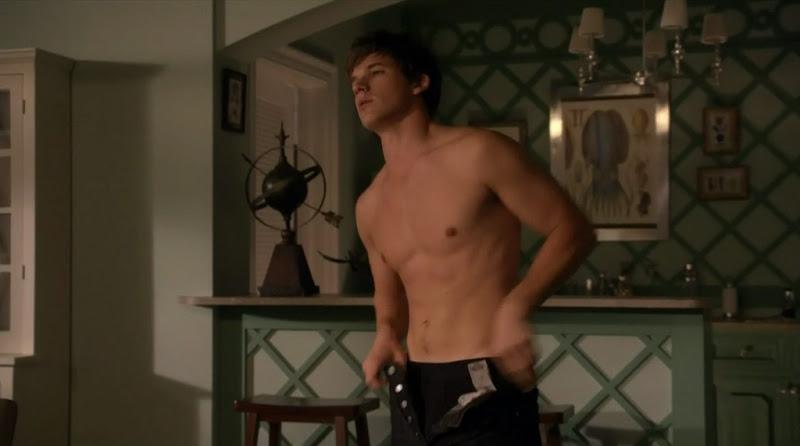 Matt Lanter Shirtless on 90210 s3e07
