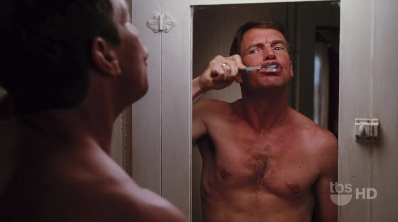 Dennis Quaid Shirtless on Yours Mine and Ours