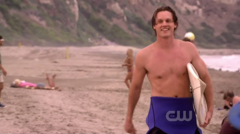 Zachary Abel Shirtless on 90210 s3e10
