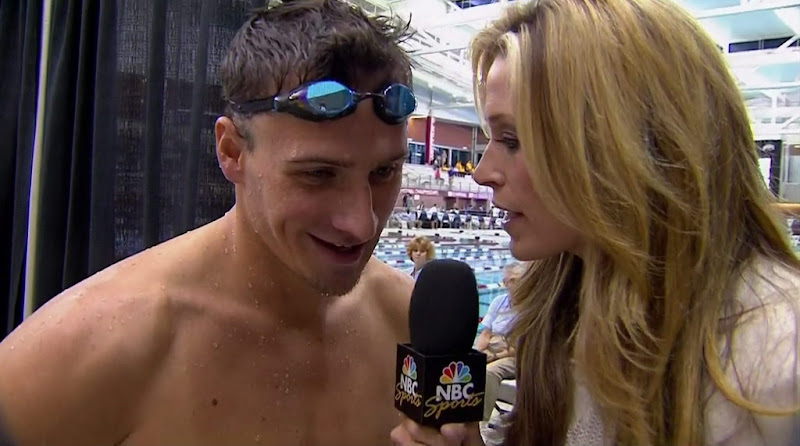 Ryan Lochte Shirtless at 2010 US Short Course National Championships