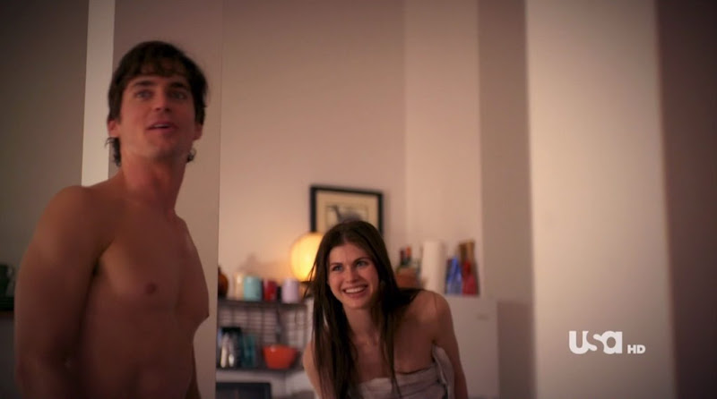 Matt Bomer Shirtless on White Collar s2e11