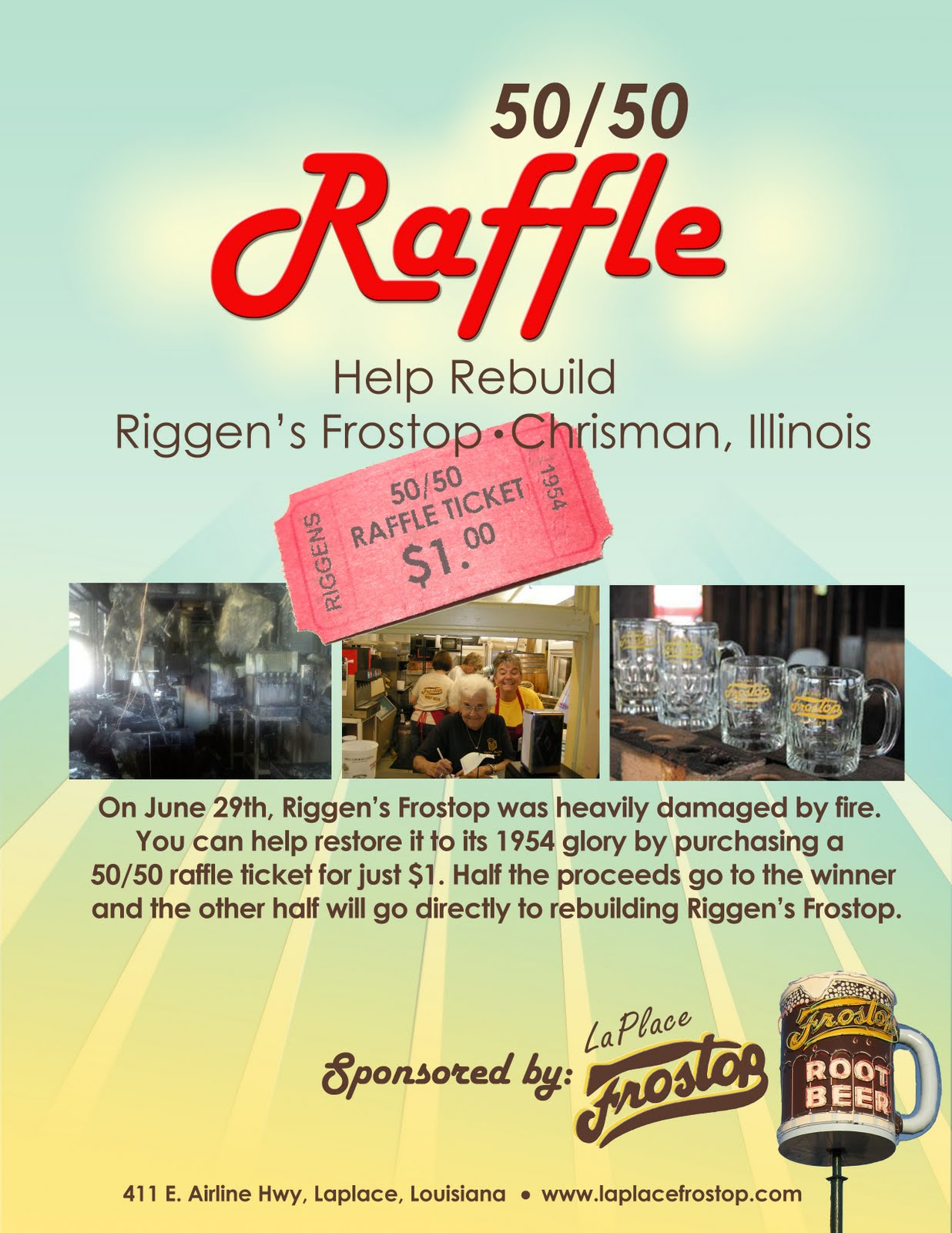 Raffle Prizes Flyer 50 50 Raffle Flyer Template