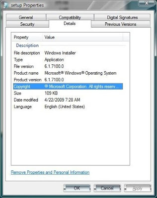 Windows 7 RC Build 7100(7100.0.winmain_win7rc.090421-1700)