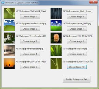 Windows 7 Login Screen Rotator Automatically Rotate Windows 7 Logon Screens Enjoy Different Logon Screens at each Windows 7 Login
