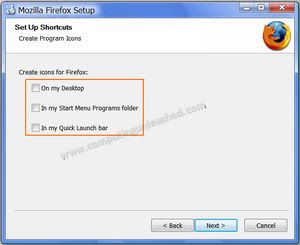 How to Update Portable Firefox Version Easily Shortcut selection