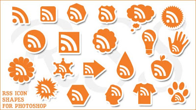rss hapes Awesome Rss Feed Icons
