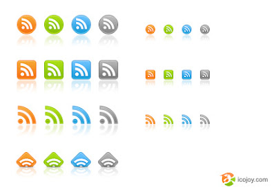 web2.0 rss icons Awesome Rss Feed Icons