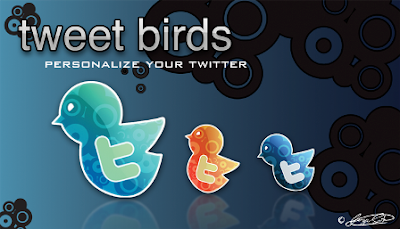 Tweet Birds by jossotdesign 400+ Beautiful Twitter Icons for your Website
