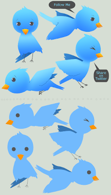 twitter icons by inaliblast 400+ Beautiful Twitter Icons for your Website
