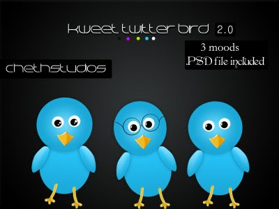kweet+release+image 400+ Beautiful Twitter Icons for your Website
