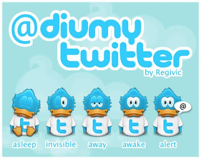 Funny Duck Twitter Icons