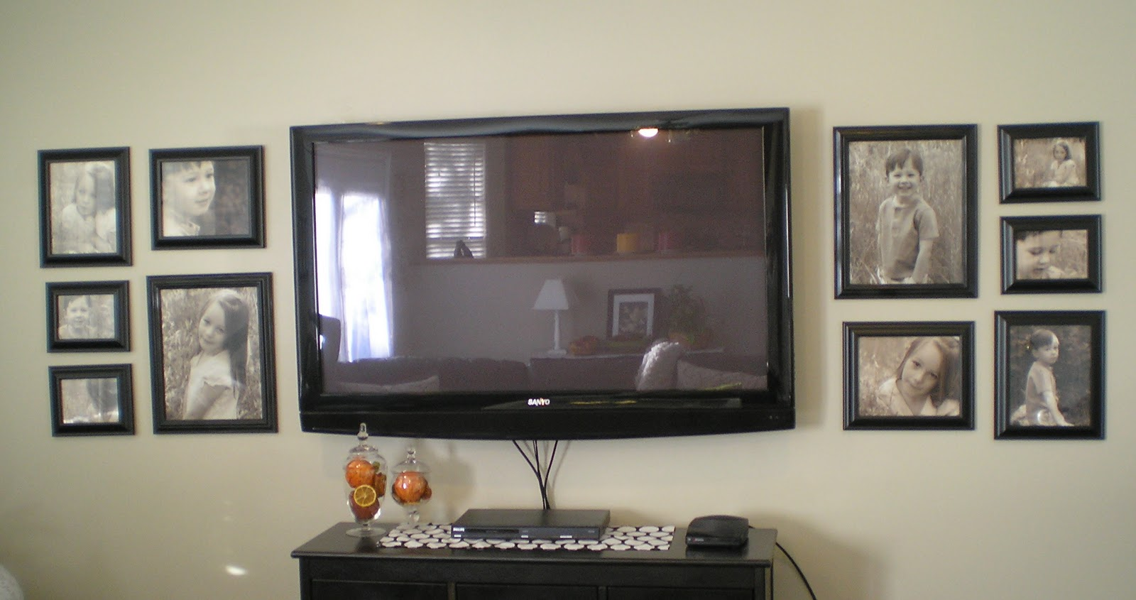 How to decorate around a flat screen tv apps directories