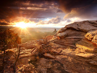 Sun Rise Canyon Nature HD Wallpaper