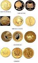 World Gold Coints