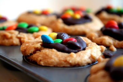 Lauren's Kitchen: Peanut Butter Cup Surprise Cookies