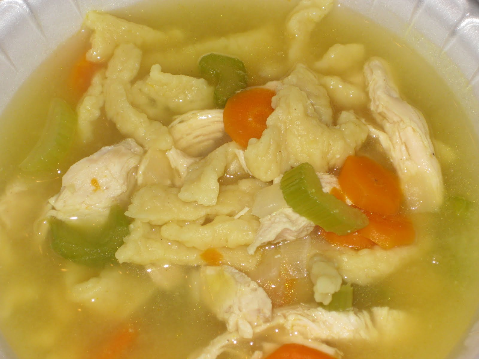 Time For Supper!: Homemade Chicken Noodle Soup