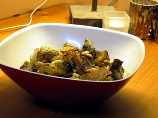 Roasted Brussels Sprouts with Balsamic Vinegar, Parmesan, Pine Nuts ...