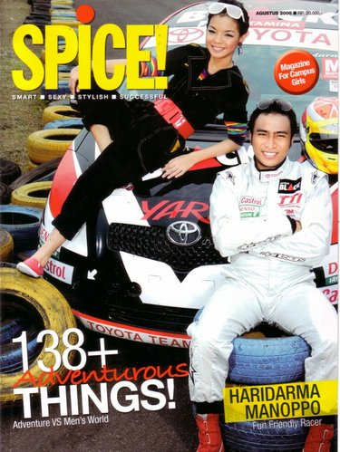 julia  and haridarma for cover spice