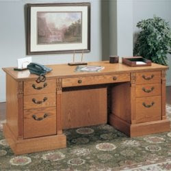 Concepts in Wood Executive Desk