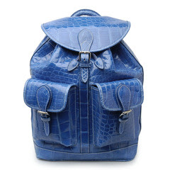 American Alligator Drawstring Backpack Made by Mulholland