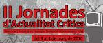 II Jornades d'Actualitat Crítica