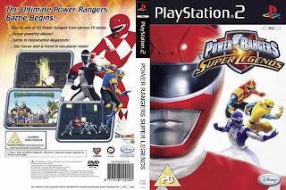 Power Rangers: Super Legends | PS2 | NTSC