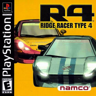 capa R4: Ridge Racer Type 4   PS1