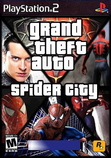 GTA Spider City   NTSC   PS2