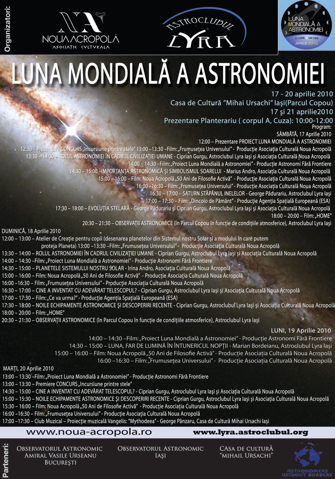 Program GAM 2010
