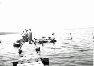 Vintage Speed Boats at Birch Lodge