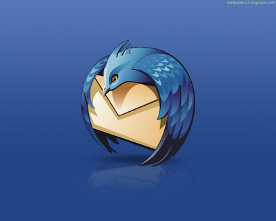 Thunderbird Standard Resolution Wallpaper