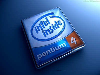 Intel Pentium 4 Standard Resolution Wallpaper