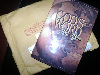 Brinde Gratis Bíblia God's Word For You