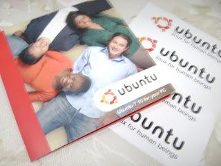 Brinde Gratis Cd Ubunto com Adesivo