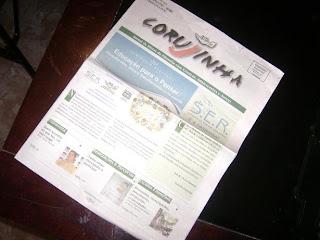 Brinde Gratis Jornal Corujinha