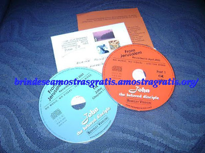 Brinde Gratis CDs de Estudo Bíblico