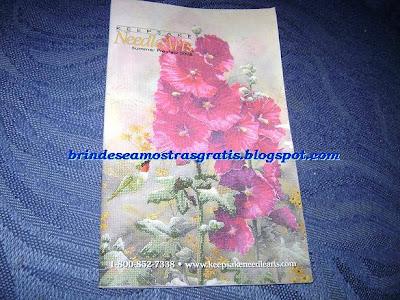 Brinde Gratis Catálogo de Ponto Cruz
